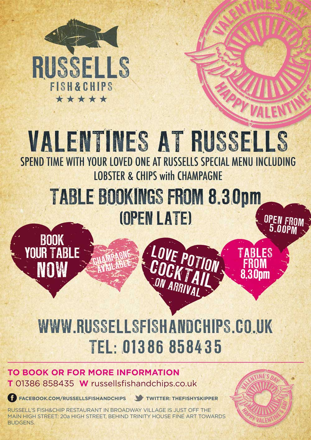 Russells-Fisha-ann-chips-Valentines-poster-2014