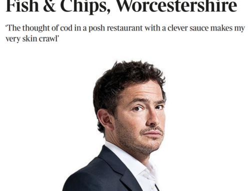 Russells Fish and Chips in Times top 100 places to eat in UK